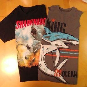 Shark t shirt and tank top